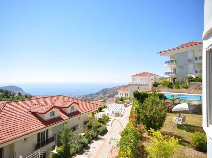 Apartments For Sale Alanya Tepe 10