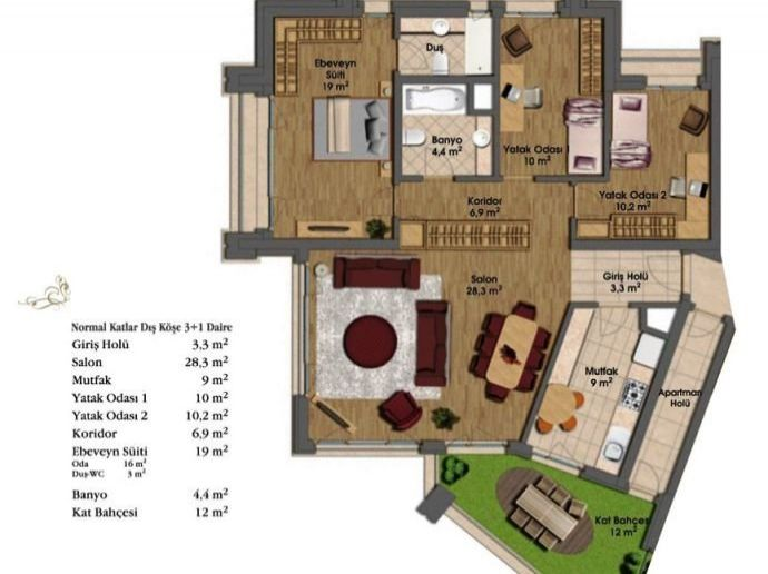 Apartments For Sale Istanbul 17