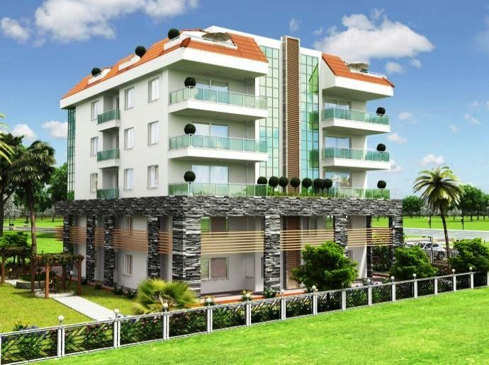 Apartments For Sale Alanya Oba 1